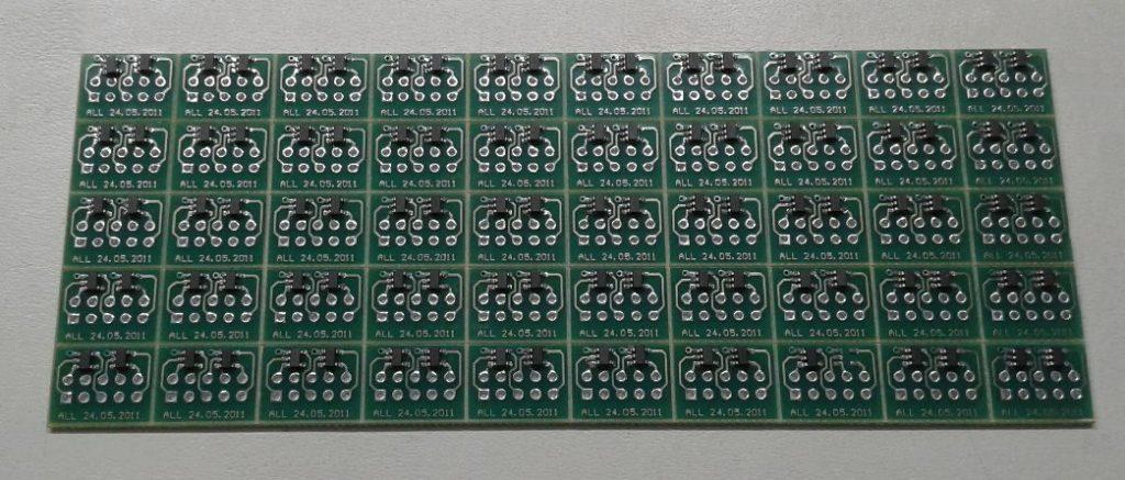 Групповая заготовка микросхем